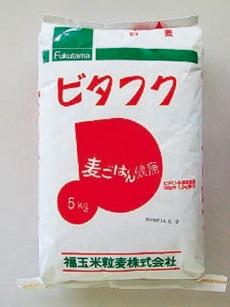 写真:【業務用】ビタフク(白麦) 国産大麦 5kg