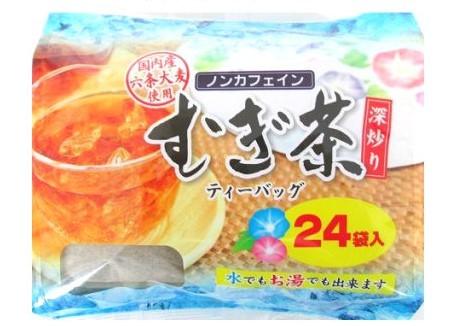 深炒り麦茶ティーバッグ 国内産 7g×24パック