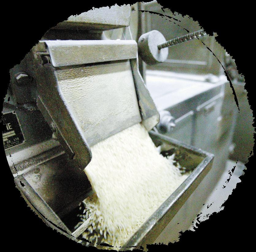 写真:米加工とう精
