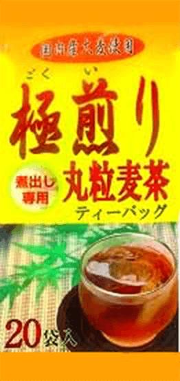 極煎り丸粒麦茶ティーバッグ(20g×20パック)