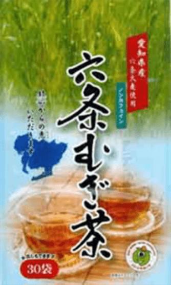 愛知県産六条麦茶ティーバッグ(8.5g×30パック)