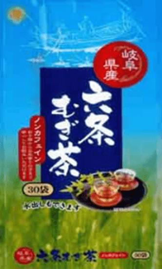 岐阜県産六条麦茶ティーバッ((8.5g×30パック)
