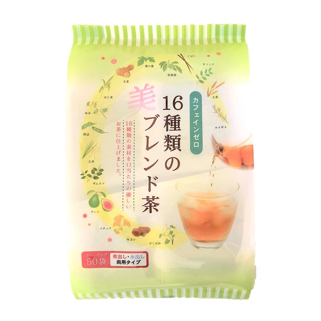 写真:16種類のブレンド茶ティーバック(5g×50パック)