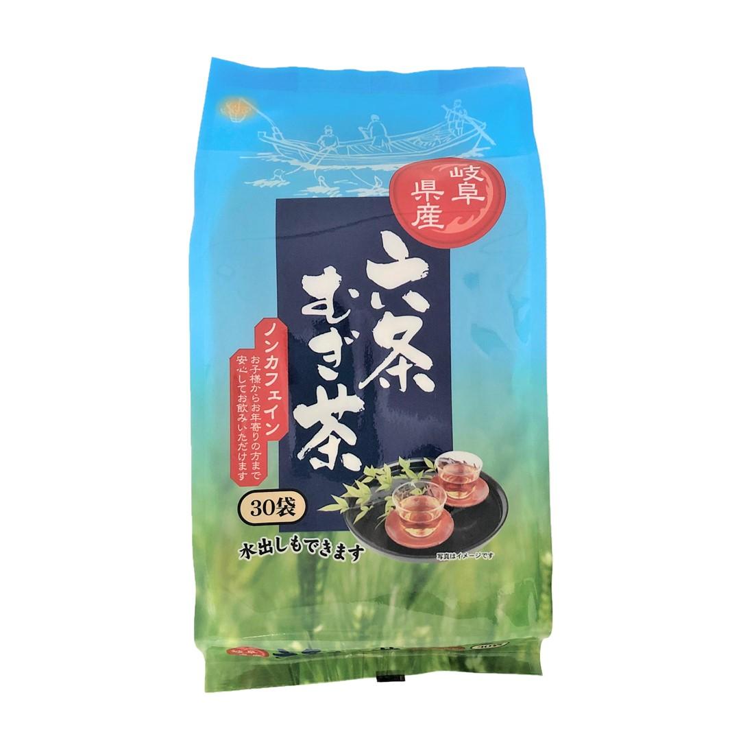 岐阜県産六条麦茶ティーバッグ((8.5g×30袋)