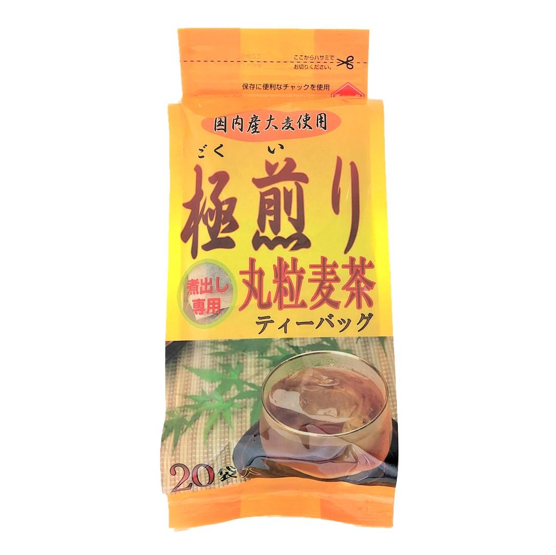 極煎り丸粒麦茶ティーバッグ(20g×20袋)