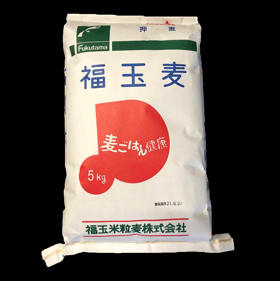 写真:【業務用】福玉麦(押麦) 国産大麦 5kg